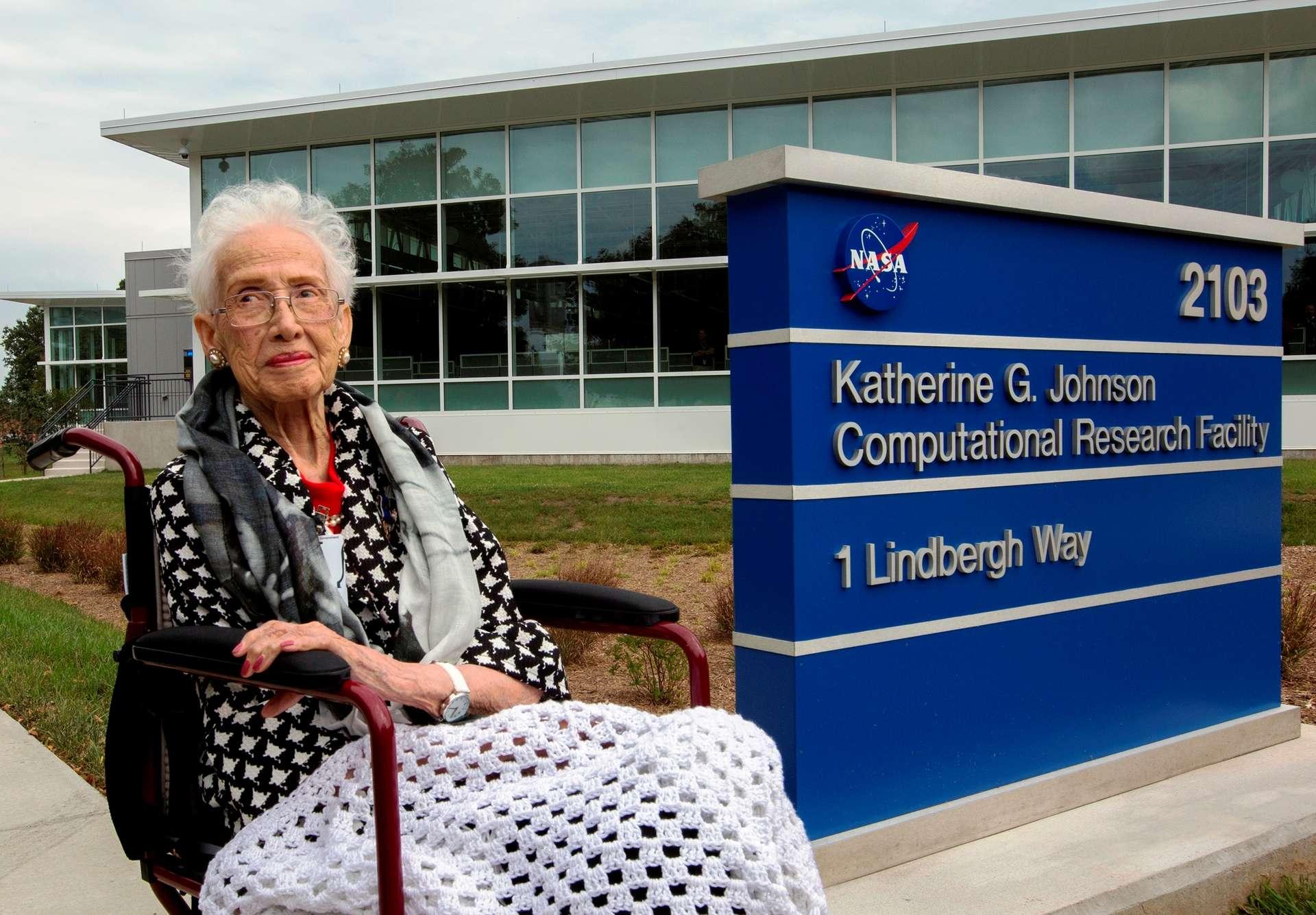 En 2017, le centre de recherche informatique Katherine G. Johnson à Hampton, en Virginie, est nommée en l'honneur de la mathématicienne. © Nasa
