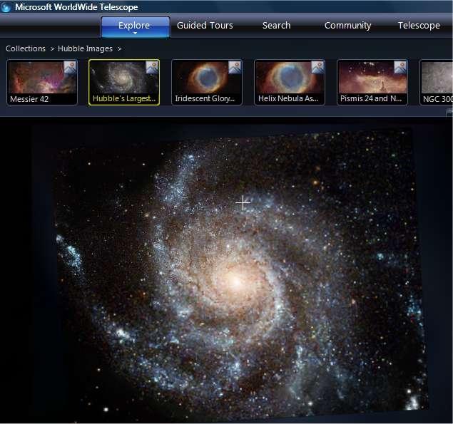 La galaxie M101, vue par Hubble. © Nasa/Hubble Heritage