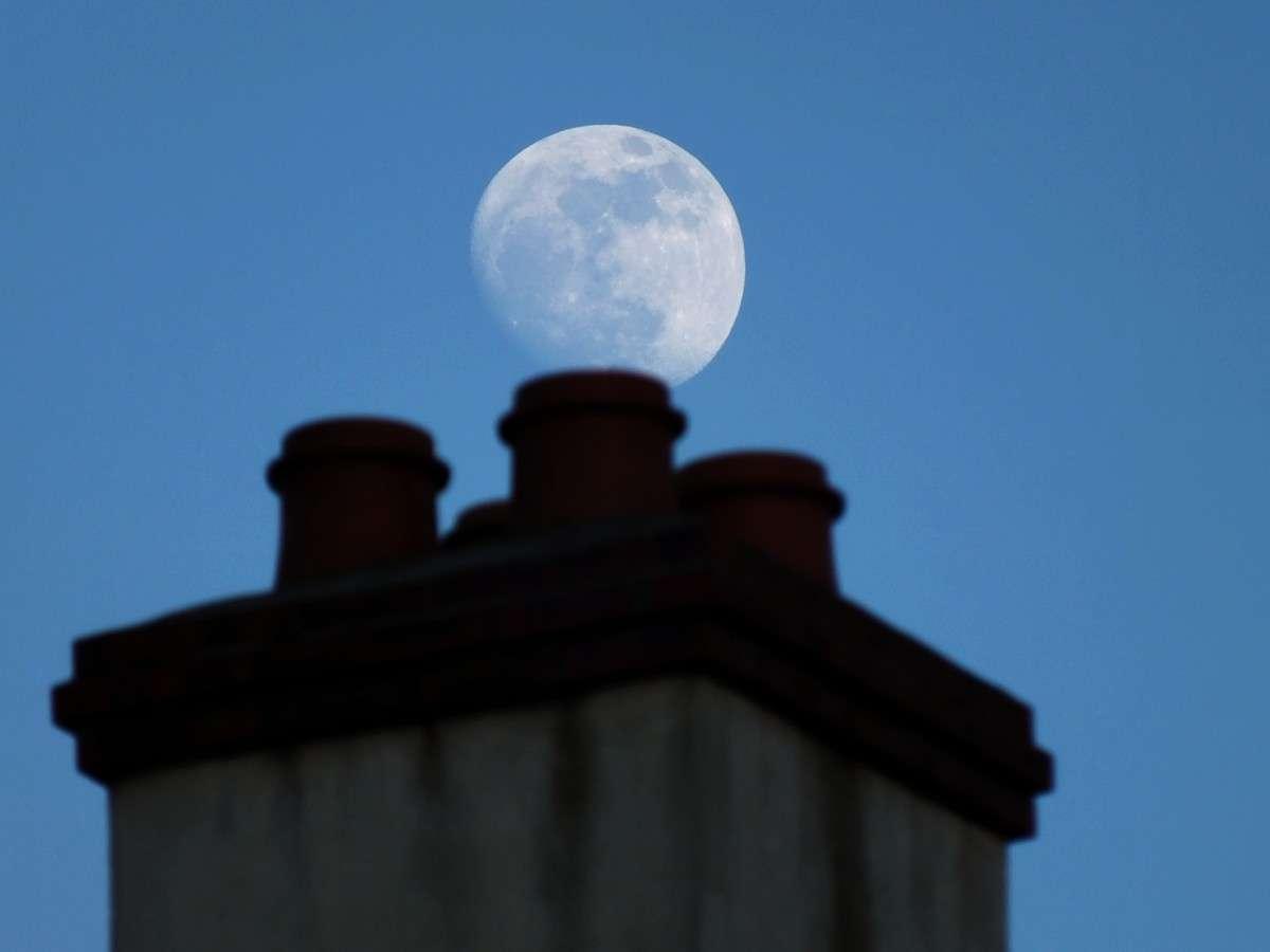 Exemple d'une Lune gibbeuse ascendante. © Jean-Baptiste Feldmann