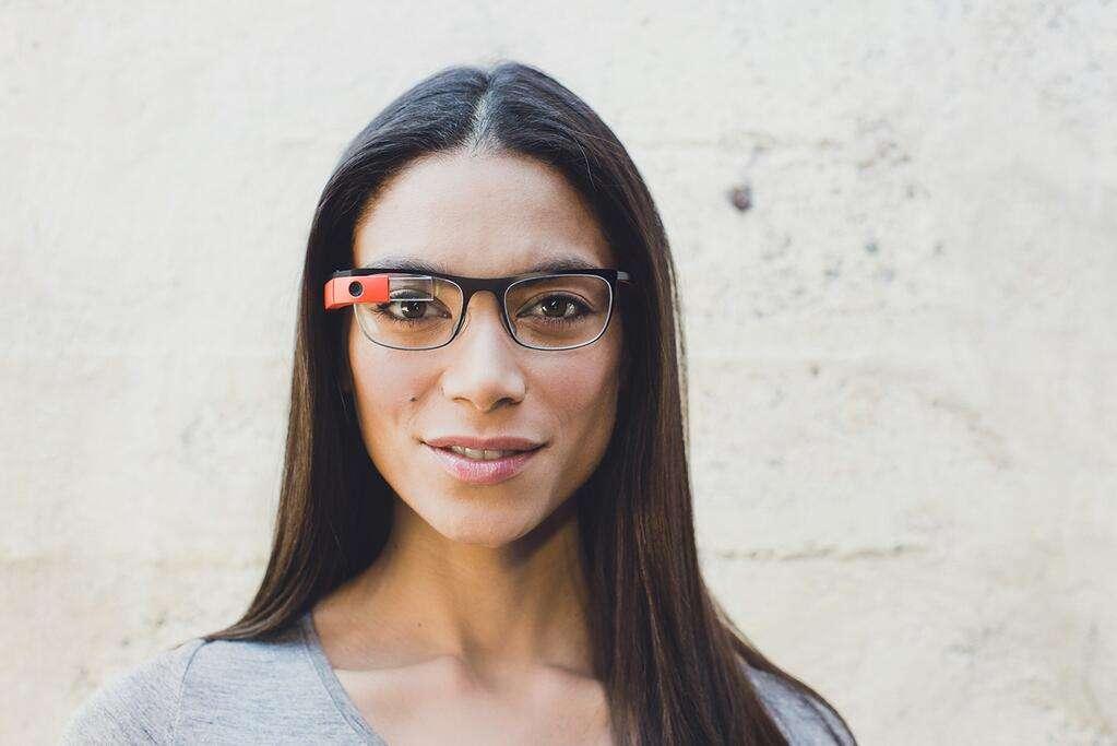 Titanium : une gamme de lunettes de vue connectées, signée Google. © Google