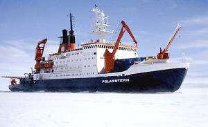 Le brise-glace PolarsternCrédit : http://www.palmtop-pro.com