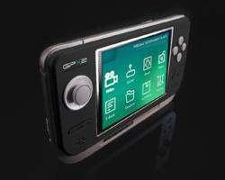 GP2x, console portable sous Linux de GamePark