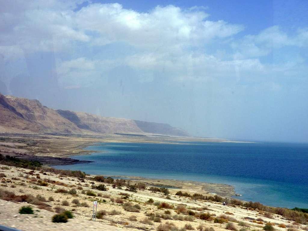 Le pipeline reliant la mer Rouge à la mer Morte est d'ores et déjà surnommé « canal de la paix ». Ce projet a été imaginé pour la première fois en 1902 par Theodor Herzl, mais au départ de la Méditerranée, plus proche. © gashwin, Flickr, cc by nc nd 2.0