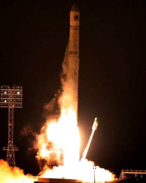 La sonde Phobos-Grunt était pourtant bien partie, impeccablement lancée par une fusée Zenit 2SB. © Roscosmos