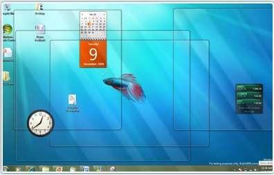 Windows 7, en version bêta 1, recueille de bonnes notes chez les premiers testeurs... © Microsoft