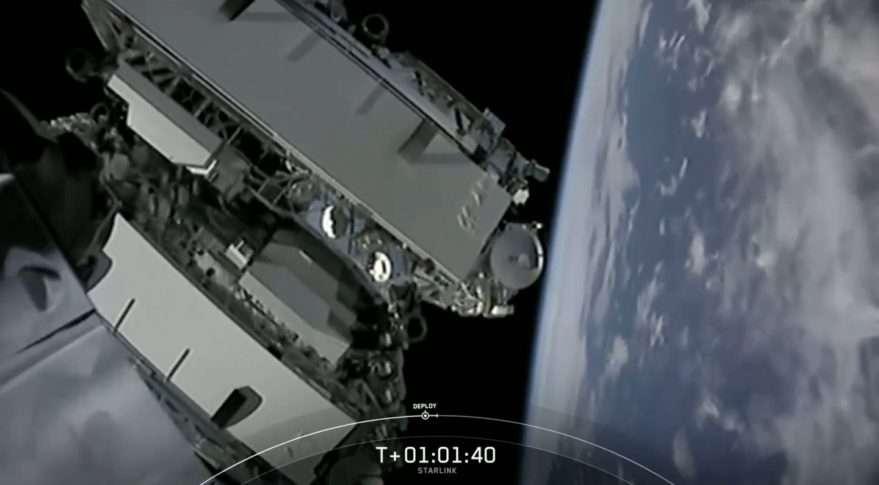 SpaceX est désormais l'opérateur disposant de la plus importante flotte de satellites commerciaux au monde. © SpaceX