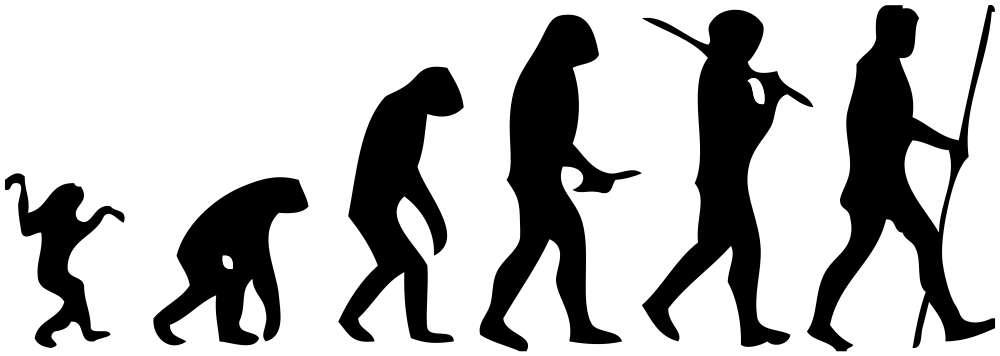 La création du langage reste un mystère de l'évolution d'Homo sapiens. © M. Garde, Wikimedia Commons, cc by sa 3.0