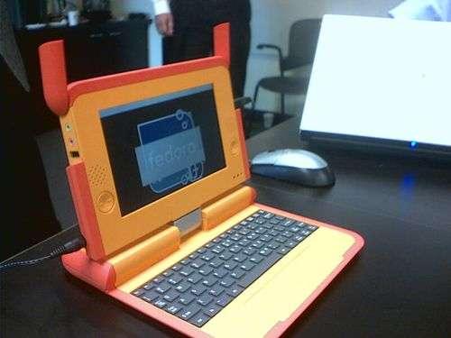 Le XO, réalisé en série depuis 2007. Crédit Fondation OLPC