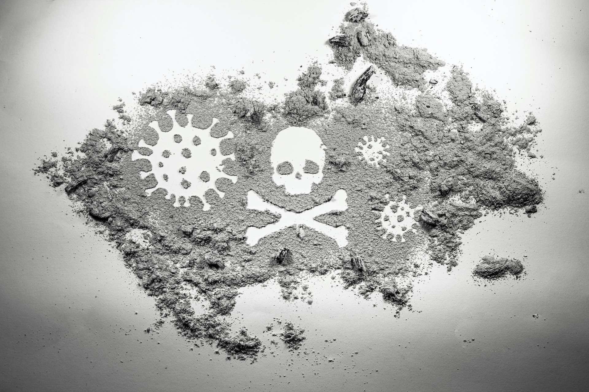Le coronavirus fait perdre 16 ans d'espérance de vie aux personnes qui en décèdent. © domagoj8888, Adobe Stock