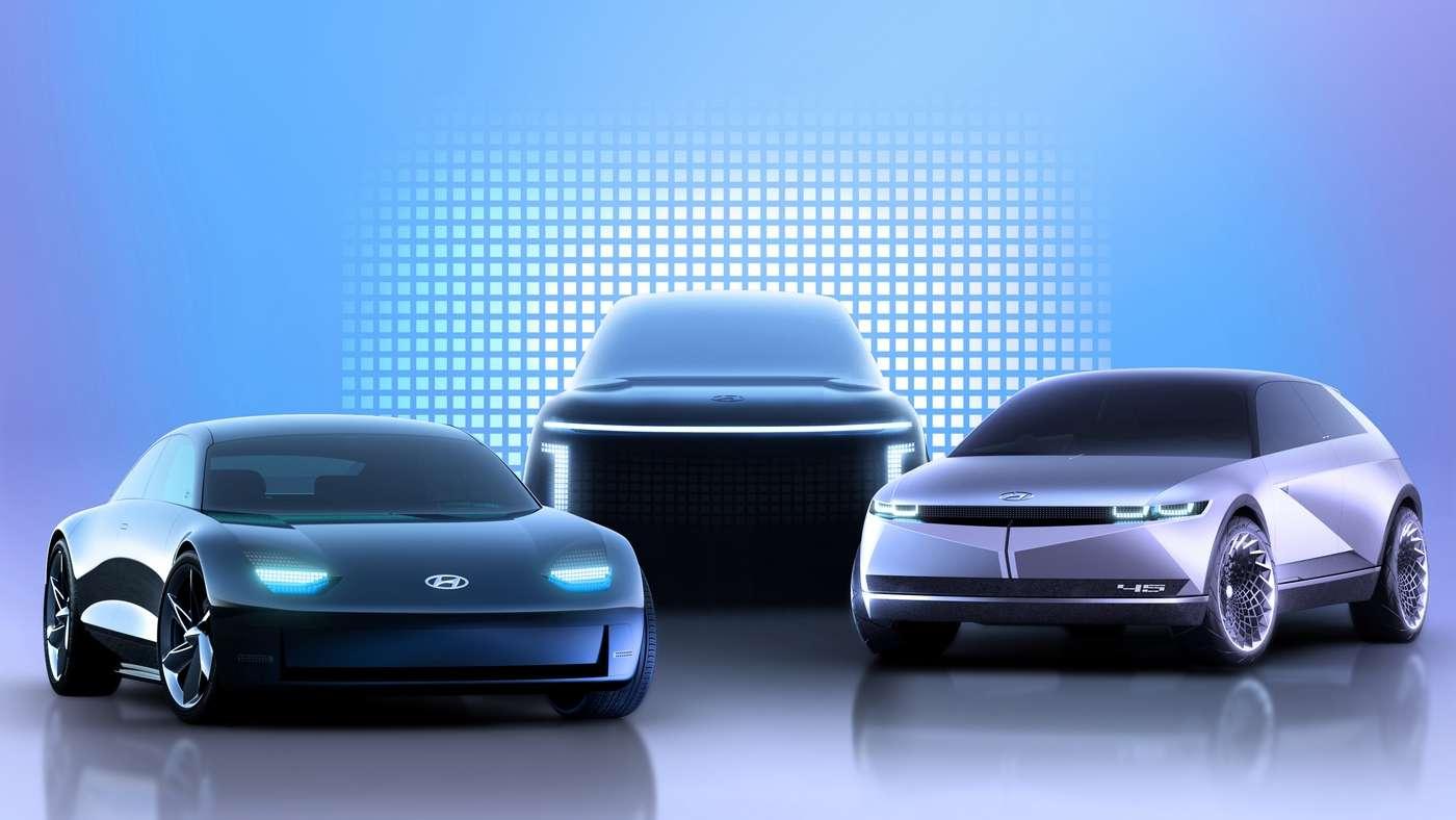 Hyundai monte en puissance sur le marché de l'électrique avec une nouvelle marque et trois modèles à venir. © Hyundai