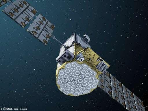 Le satellite Giove-B. © Astrium/EADS