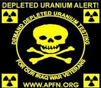 L'uranium appauvri (depleted uranium) peut être fortement irradiant ou non selon sa filière d'origine. © DR