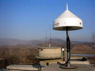 Balise du système de navigation EGNOS (crédit : ESA)