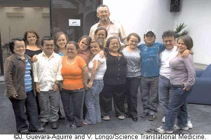 Le nanisme protégerait ces Équatoriens de certaines maladies. © J. Guevara-Aguirre, V. Longo, Science Translational Medicine