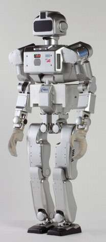 HRP-3P : un nouveau robot humanoïde japonais