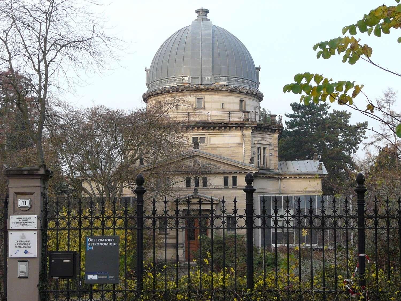 La grande coupole de l'observatoire de Strasbourg abrite la troisième lunette la plus importante en France. © J.-B. Feldmann