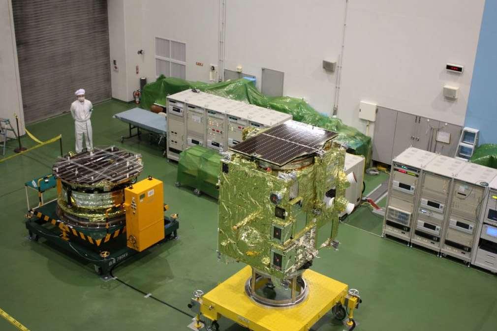 Première mission du Japon vers Vénus, Akatsuki doit nous aider à mieux comprendre le fonctionnement de l'atmosphère de cette planète. Crédit Akihiro Ikeshita