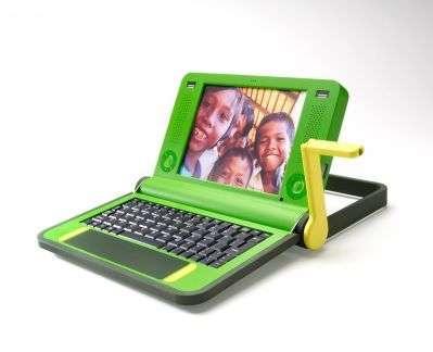 Projet d'ordinateur portable pour l'opération One laptop per child, de Nicholas Negroponte