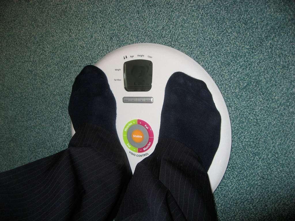 L'obésité entraîne de nombreuses pathologies parfois mortelles, comme le diabète ou les maladies cardiovasculaires. La solution d'un vaccin permettrait une prise de poids sans régime restrictif ni excès d'activité physique. Pourtant, cela reste le meilleur moyen de tenir une bonne santé. © xtof, Flickr CC by nc sa 2.0