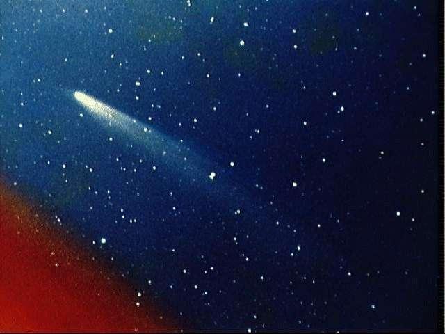 Comète Kohoutek. Crédit Nasa