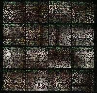 Image d'une puce à ADN