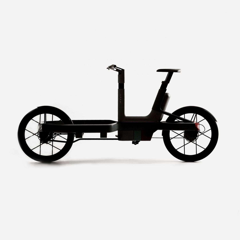 Le vélo électrique à pile à combustible LAVO bike n'est pour le moment qu'un concept. © StudioMom