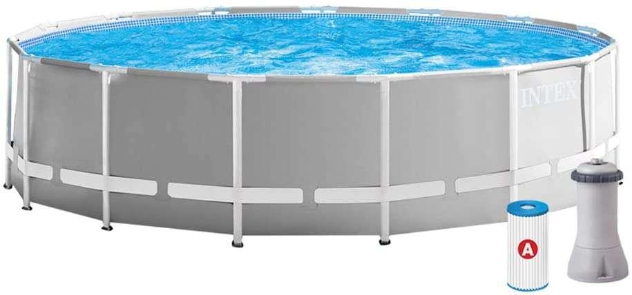Bon plan : la piscine tubulaire Intex Prism Frame © Amazon