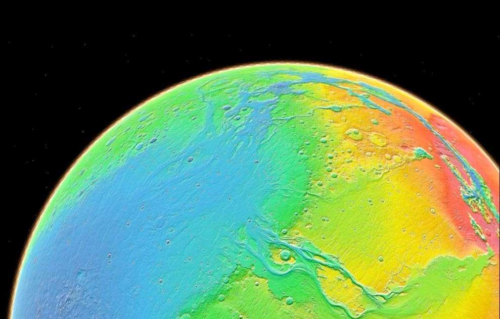 L'Inde, qui projette de devenir la quatrième puissance spatiale capable de lancer un Homme dans l'espace, vise également l'exploration robotique de Mars. Une première mission est en attente du feu vert de l'Agence spatiale indienne. © Nasa/JPL-Caltech