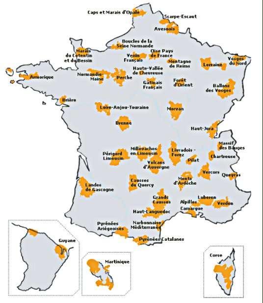 © Fédération des parcs régionaux de France