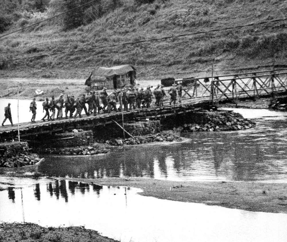 En 1954, la bataille de Diên Biên Phu remportée par les troupes vietnamiennes opposées aux Français a mis un terme à la guerre d'Indochine. © Wikimedia Commons, DP