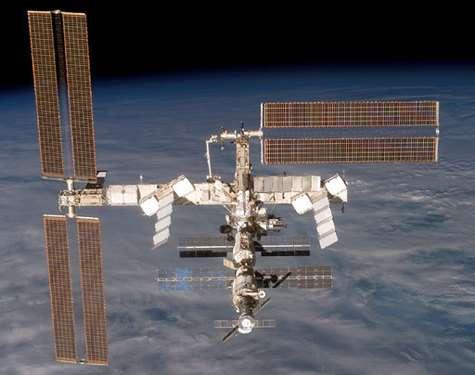La Station Spatiale Internationale dans sa configuration actuelle.