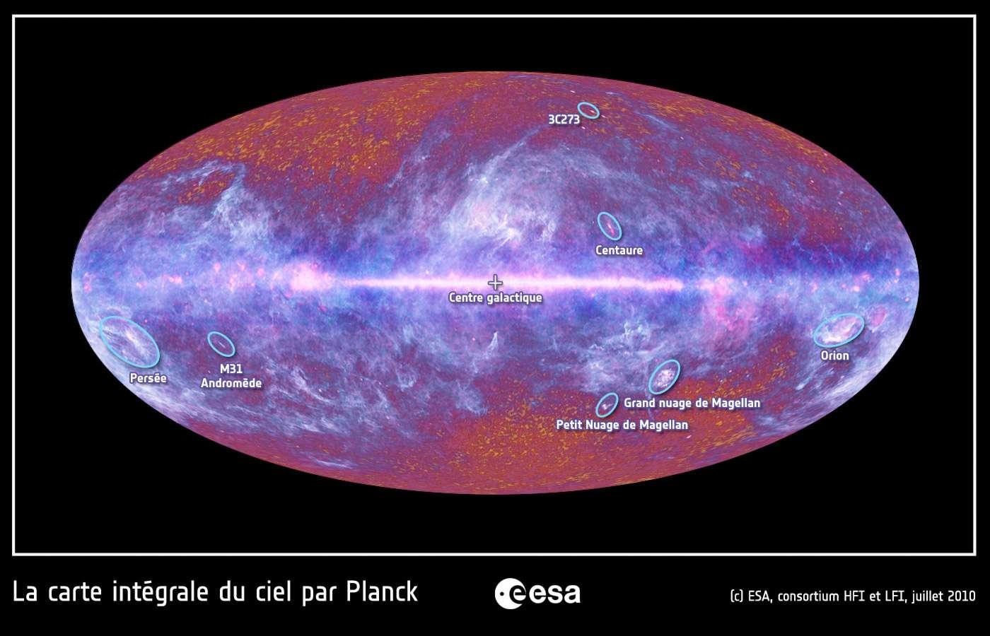 Le 21 mars, l'Esa dévoilera ce que nous ont appris les données fournies par le télescope spatial Planck. Très attendues par la communauté des cosmologistes et présentées comme inédites, elles nous apporteront un nouvel éclairage sur l'histoire de la formation de l'univers. © Esa