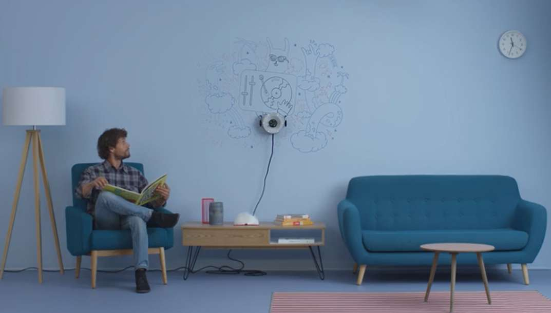 Scribit : un robot-peintre qui décore nos murs à volonté
