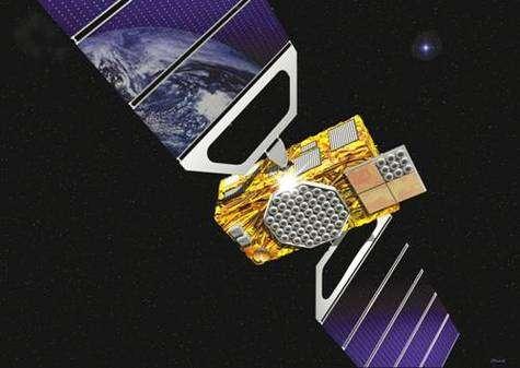 Un satellite GALILEO (vue d'artiste).