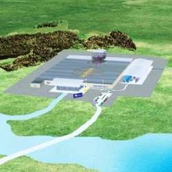 Le projet de centrale de la société Statkraft. Crédit : Statkraft