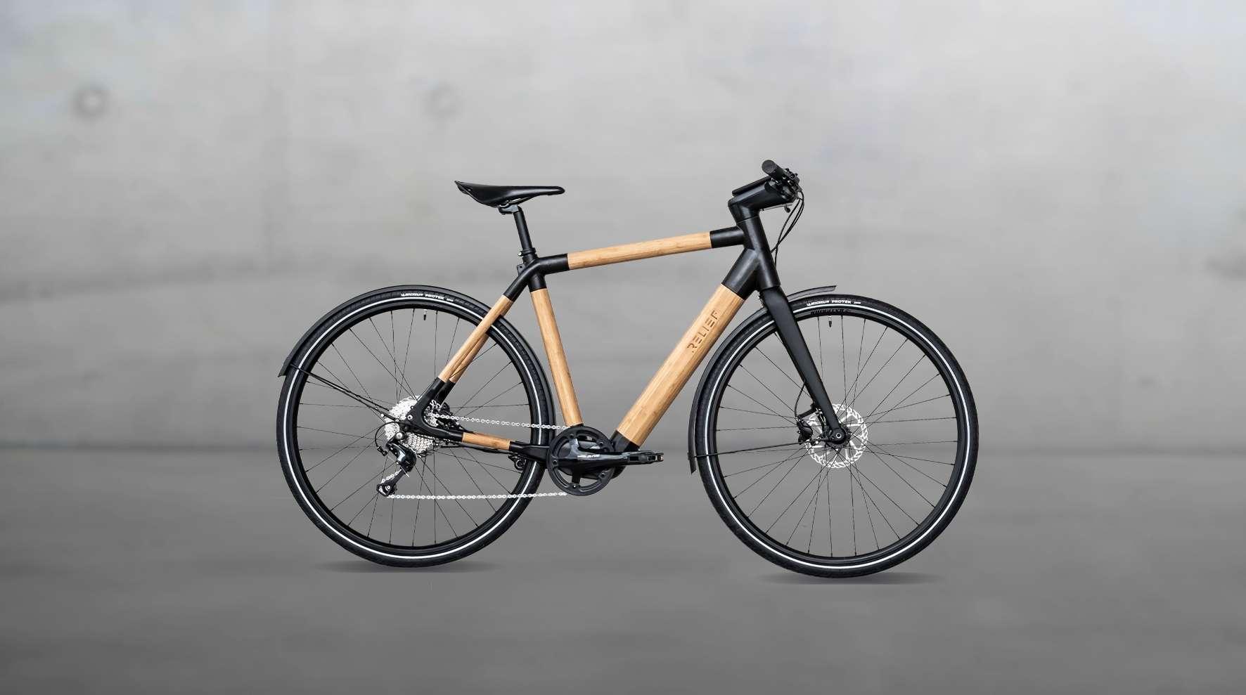 Le nouveau vélo électrique Relief de Cyclik. © Cyclik