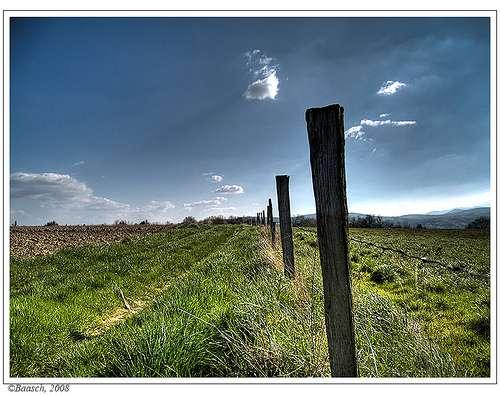 La campagne est belle... mais les commerces sont loin. © Baasch / Flickr - Licence Creative Common (by-nc-sa 2.0)