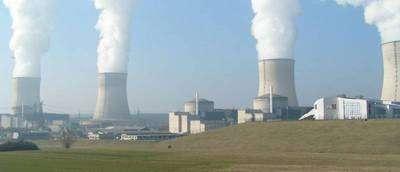 La centrale nucléaire de Cattenom (Lorraine)