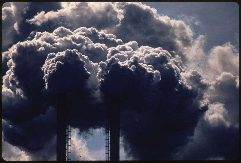 Déjà non négligeable aujourd'hui, la pollution atmosphérique émanant de l'Afrique pourrait devenir prépondérante d'ici à 2030, selon certaines estimations. © US National Archives and Records Administration, Wikipédia, DP