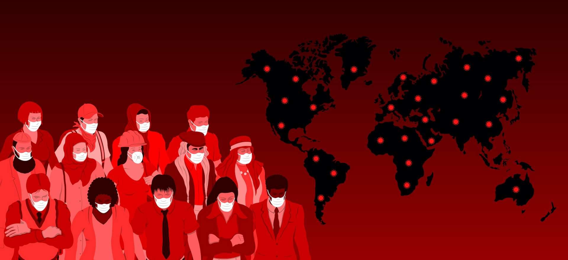 760 millions de personnes dans le monde pourraient avoir été infectées au coronavirus. © Gurcan, Adobe Stock
