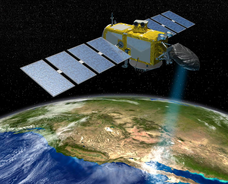 Le satellite Jason 3 devrait constater la poursuite de l'élévation du niveau de la mer au rythme de plus ou moins 3,3 millimètres par an en moyenne. © Cnes
