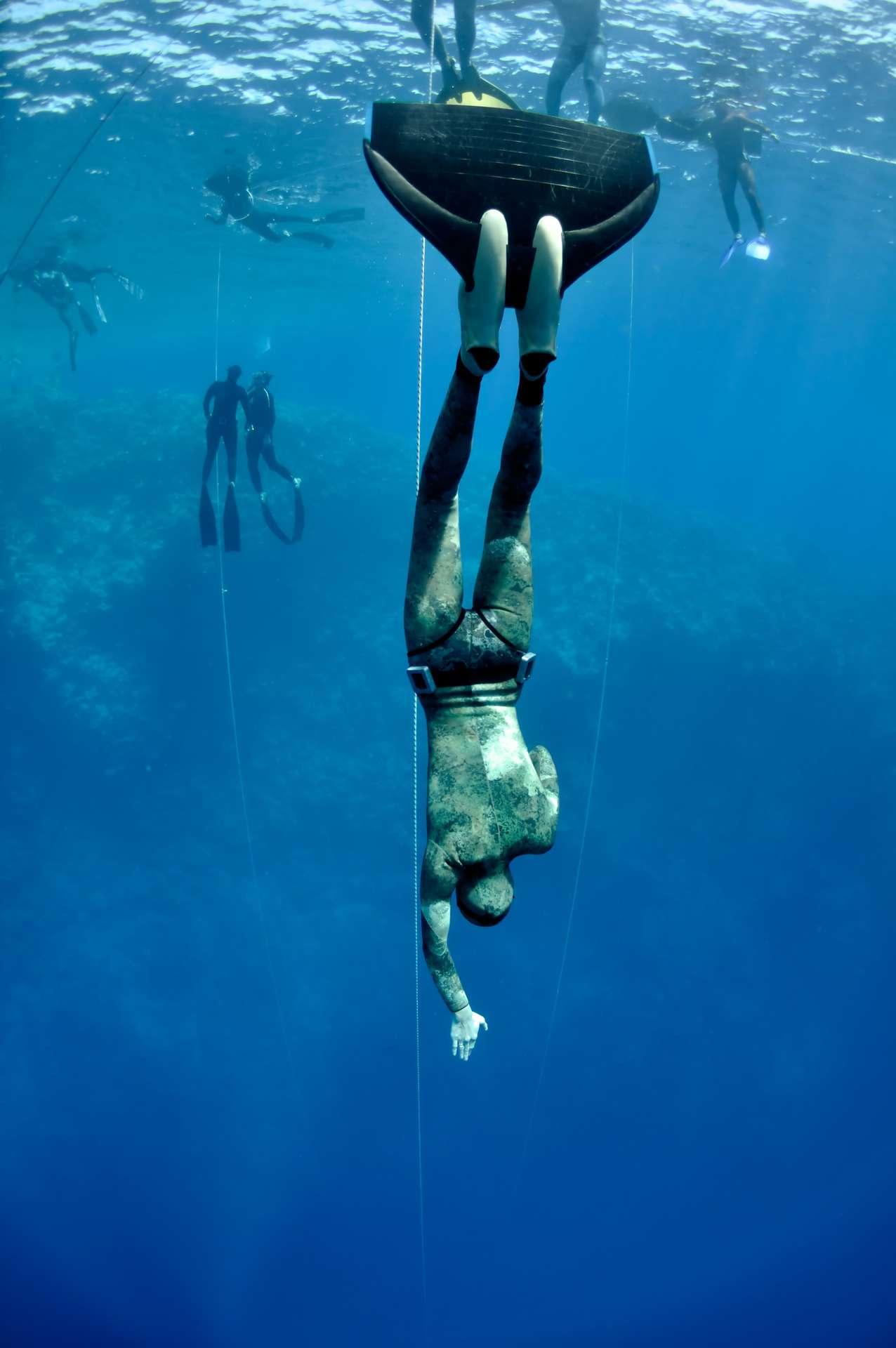 La pression double à partir de 10 mètres de profondeur. © Fotolia