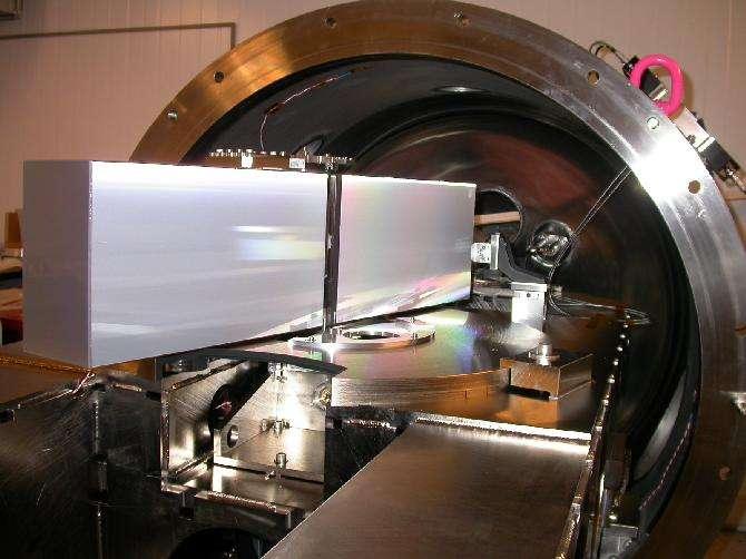 Harps (High Accuracy Radial velocity Planet Searcher) est le spectrographe équipant le télescope de 3,6 m de l'ESO à La Silla, utilisé pour détecter les exoplanètes. © Eso