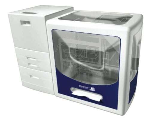 L'Espresso Book Machine dans sa version 2.0. Elle imprime des livres jusqu'à 800 pages. © ODB