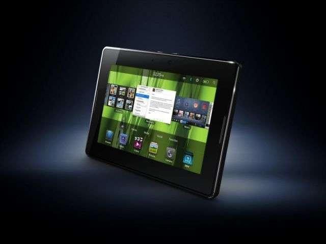 Une belle interface mais il reste des lacunes applicatives pour le démarrage du PlayBook de RIM. © DR