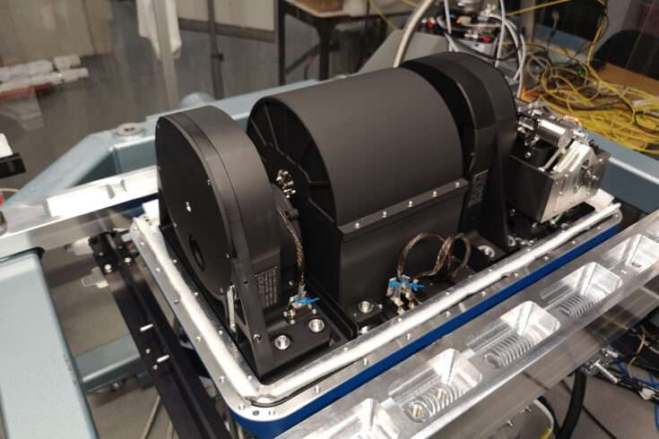 La caméra infrarouge NIX sera installée sur le VLT au Chili en 2022. © STFC/UKRI
