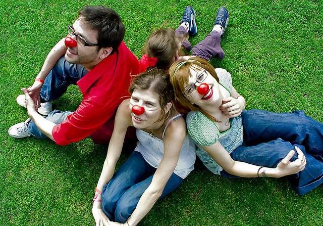 Les nez rouges (Fédération des maladies orphelines) luttent contre les maladies orphelines. © Trypode, Flickr, CC by-nc 2.0