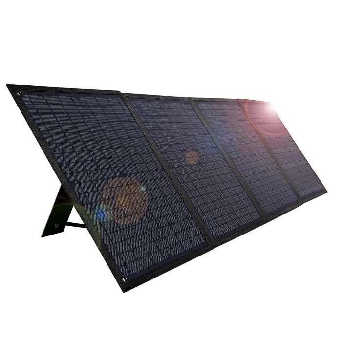 Bon plan : le panneau solaire pliable WINICE 60W © Cdiscount