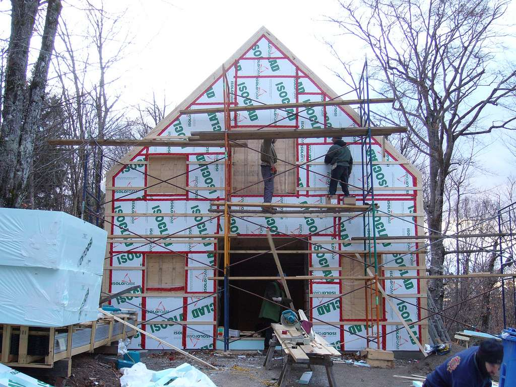 Construire sa maison demande des autorisations précises. © Arbre évolution, Flickr, CC BY-SA 2.0