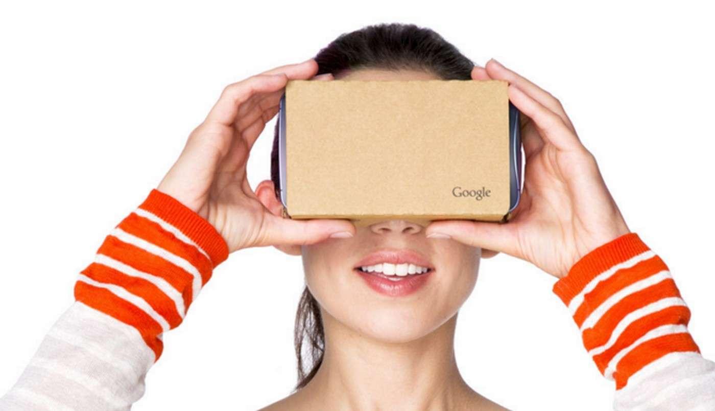 Les Cardboard sont des lunettes de réalité virtuelle en carton dans lesquelles on insère un smartphone. On peut les acheter prêtes à l'emploi ou les confectionner soi-même en suivant les instructions fournies par Google. © Google